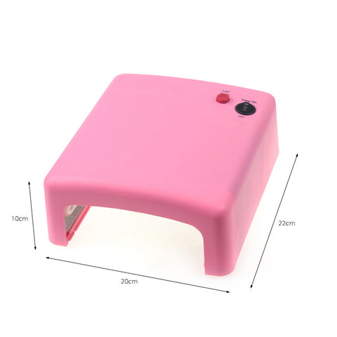 36W Professional Gel UV Lamp Nail Dryer 220V EU Plug - FOB:US$15.17 - MOQ:50