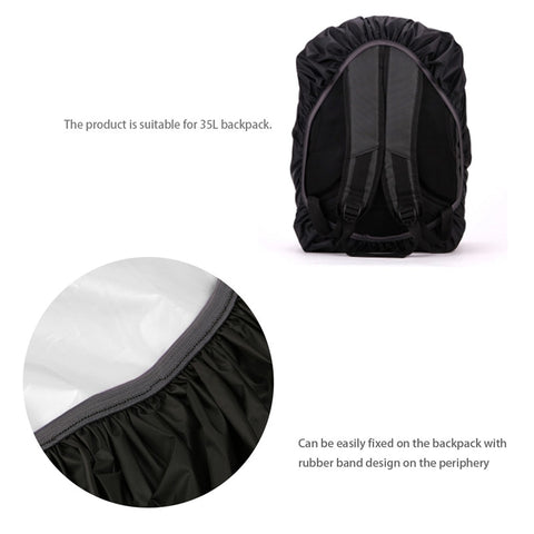 Cover Outdoor Waterproof Backpack - FOB: US$3.65 - MOQ:200