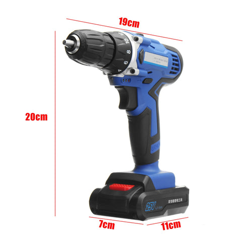 25V Lithium-Ion Battery Power Drill - FOB:US$54.73 - MOQ:5