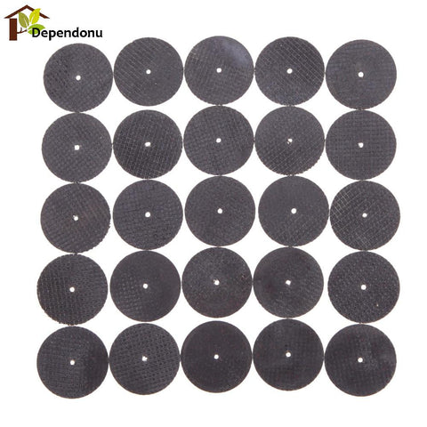 25 Pieces Metal Dremel Cutting Disc Grinder Rotary Tools - FOB:US$1.98 - MOQ:100