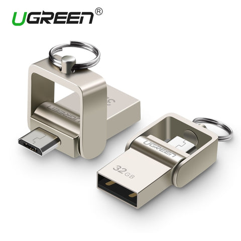 Ugreen USB Flash Drive Micro USB Pendrive 64-32 GB - FOB:US$11.86- MOQ:100