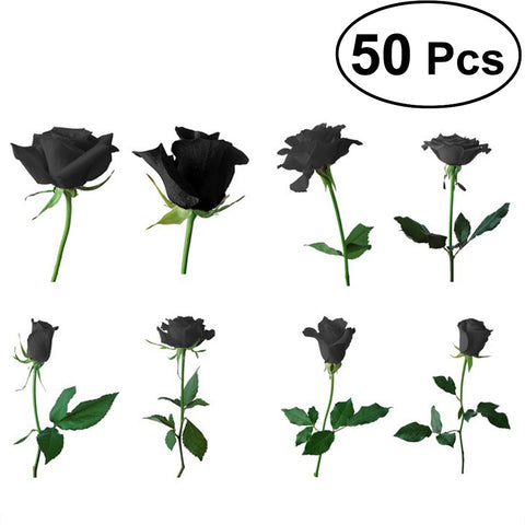 50 PCS Garden Yard Plants Seeds, Black Rose Seeds - FOB:US$1.59 - MOQ:200