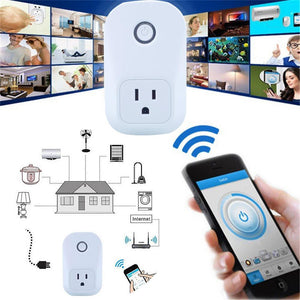 Wifi Cell Phone Timer Socket - FOB:US$18.82 - MOQ:100