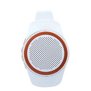 Speaker Bluetooth Watch White - FOB:US$15.43 - MOQ:50