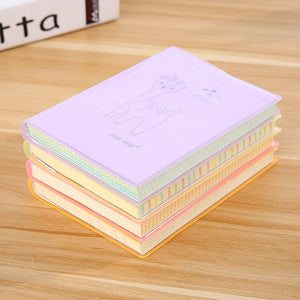 Super Thick Plum Deer Small Notepad, 100 Sheets - FOB:US$4.50 - MOQ:100