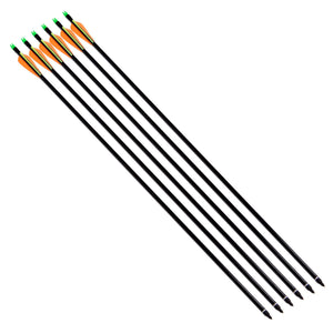 Archery Fiberglass Arrows for Recurve Bow & Compound Bow Hunting - FOB:US$11.00 - MOQ:100