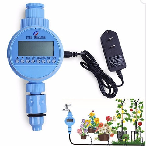 Automatic AC Timing Water Saving Irrigation Controller - FOB:US$22.00 - MOQ:100