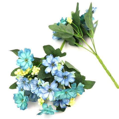 13 Heads Artificial Bouquet Flowers Home Decor - FOB:US$3.12 - MOQ:200