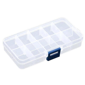 10/15/24 Plastic Clear Storage Container for beads - FOB:US$3.17-5.92 - MOQ:200