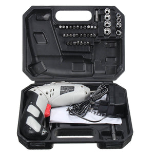 45 in 1 Power Tool Rechargeable 4.8V Cordless Drill Kit Set - FOB:US$27.49 - MOQ:100