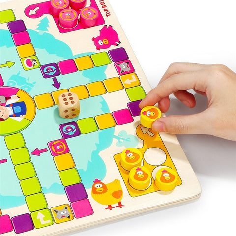 Educational Portable Foldable Cute Animal Farm Game -  FOB:US$15.80 - MOQ:50