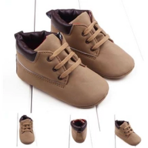 Leather Children Casual Boy Shoes - FOB:US$2.50 - MOQ:500