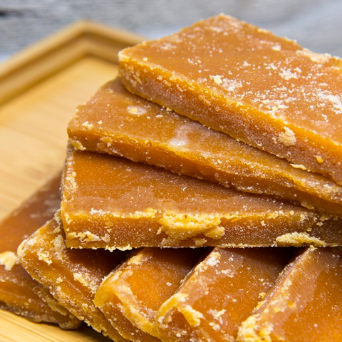 Caramel Brown Slab Sugar - FOB:US$36.85 - MOQ:800 Boxes