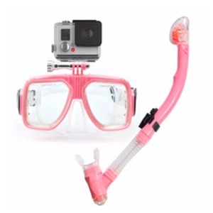 Diving Mask with Gopro Mount with Digital Camera - FOB:US$12.10 - MOQ:50