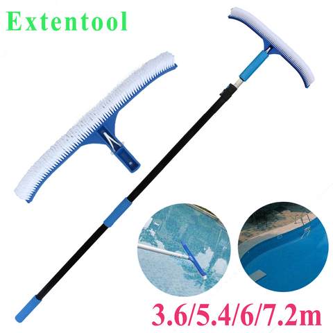 Swimming Pool Cleaning Equipment With Brush 12ft/34ft - FOB:US$9.68 - MOQ:1000