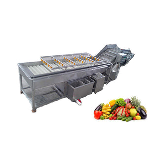 Fruit And Vegetable Washing Machine,Zhucheng,Fruit And Vegetable Processing Line - FOB:US$ - MOQ: