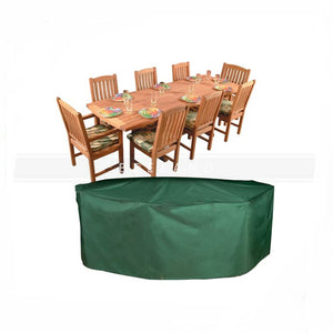 Waterproof And Dustproof Outdoor Furniture Cover Patio Table Set Cover - FOB:US$ - MOQ: