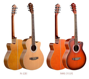 Wholesale 40 Inch Chinese Acoustic Guitar Made In China - FOB:US$ - MOQ: