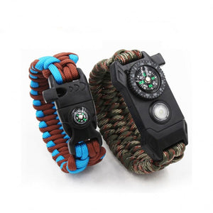Ultimate Paracord Survival Bracelet Watch With Knife - FOB:US$ - MOQ: