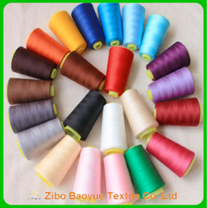 100% Spun 40/2 Polyester Sewing Thread Wholesale - FOB:US$1.20 - MOQ:2000 Rolls