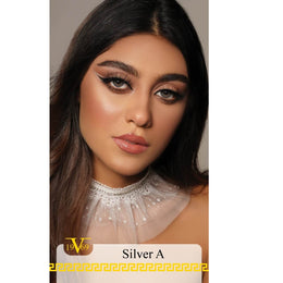 Versace Cosmetic Lenses 19V69 - SILVER A MIST