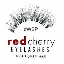 Red Cherry Wsp Lashes 100% Human Hair False Eyelashes - High