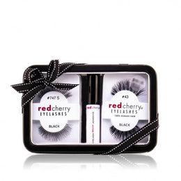 Red Cherry Eyelashes gift set