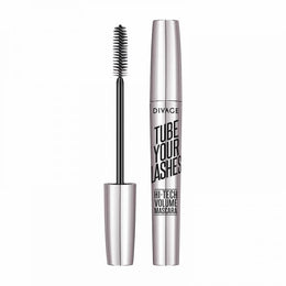 Divage Tube Your Lashes Hi tech Volume Mascara 01black - 01Black
