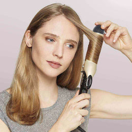CURLING IRON 25MM GOLD 3TEMP LED