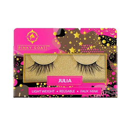 Pinky Goat False Eyelashes - Julia