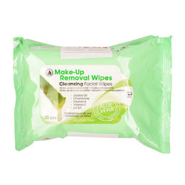 Depend Make-up Removal Wipes- 25pcs
