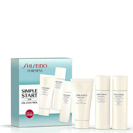 Shiseido Pureness Simple Start For Oil-Control Set