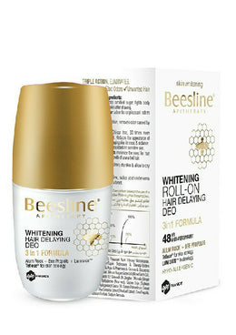 Beesline Deodorant opens skin and delays hair growth