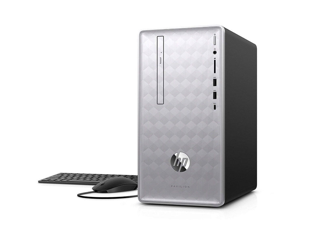 HP Pavilion 590-p0057c Gaming Desktop Intel Core i5 8th Gen 16GB RAM 1TB RX 550