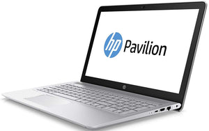 "HP Pavilion 15-CC565NR 15.6"" Laptop i3 8GB RAM Hybrid 1TB HD 8GB SSD NAND Silver (Refurbished)"