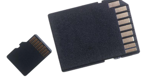 MicroSD with SD ADAPTER for Smartphones and Computers (Adapter Included)