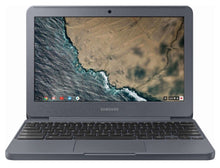 "Load image into Gallery viewer, Samsung 3 Chromebook 11.6"" Intel Celeron 1.60 GHz 2GB RAM 16GB eMMC Chrome OS (Refurbished)"