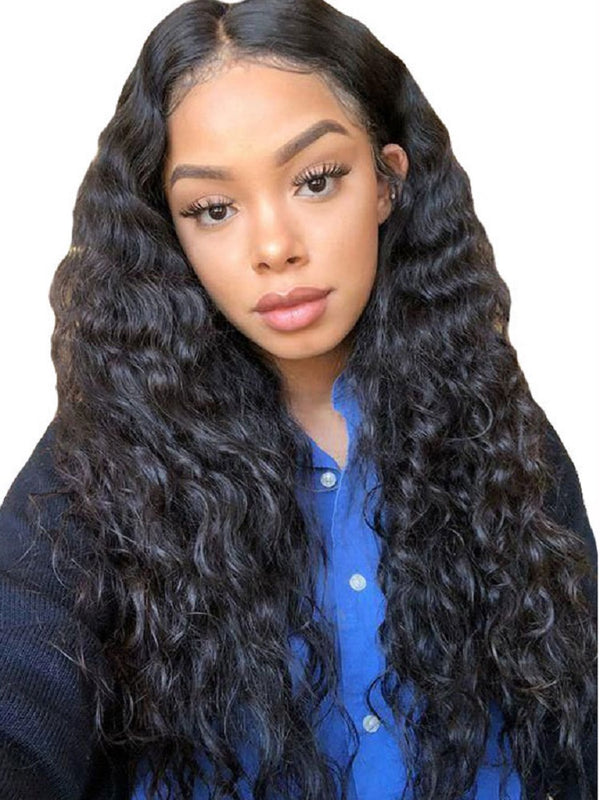 Synthetic Hair Big Curly Women Lace Front Cap 26 Inches Wigs