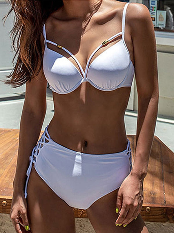 Swimwear sexy lace-up normale