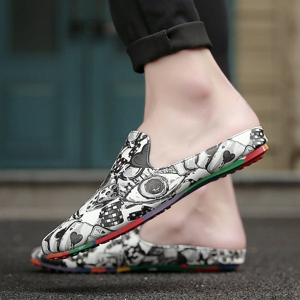 Slip-On Low-Cut Upper PU chaussures à bout rond