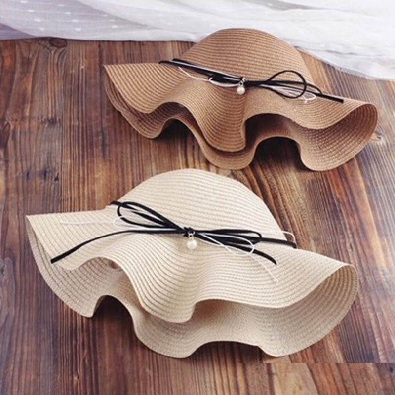 Casual Straw Plaited Article Straw Hat Summer Hats