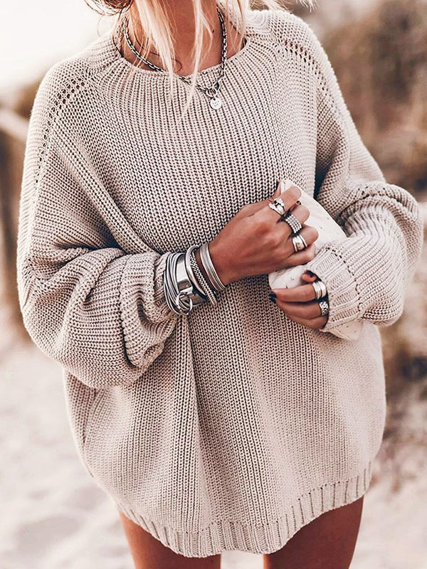 Winter Mid-Length Sweater