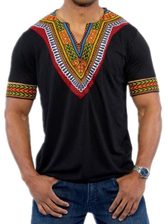 Best Seller V-Neck Short Sleeve Men's T-shirt