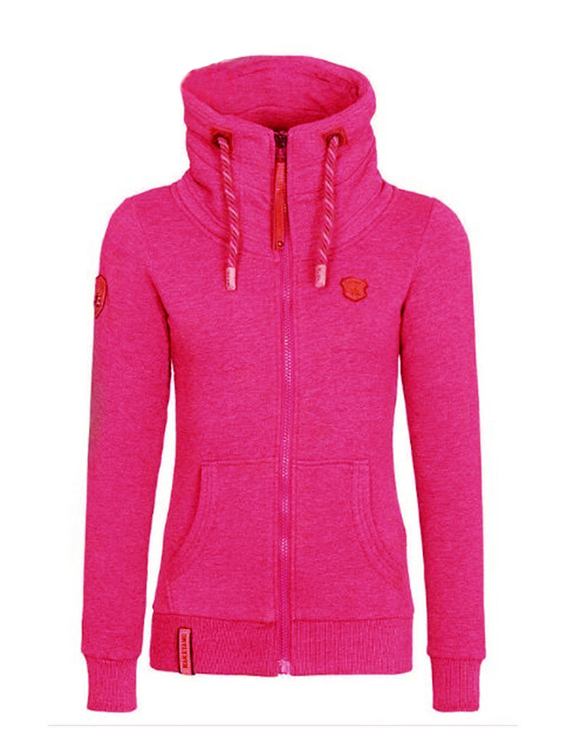 Multi Colors Hooded Slim Frauen Herbst Hoodie
