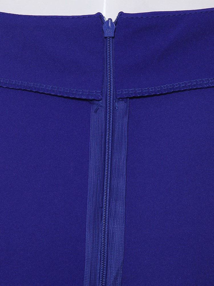 Pure Color High-Waist Lässige Damenhose