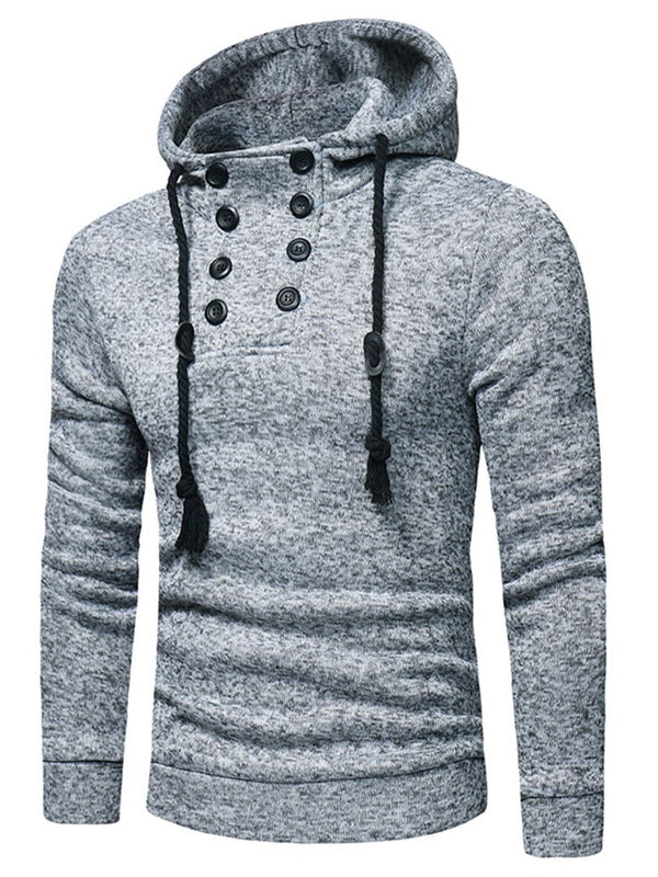 Camouflage Asymmetric Zipper Winter Mens Casual Hoodies