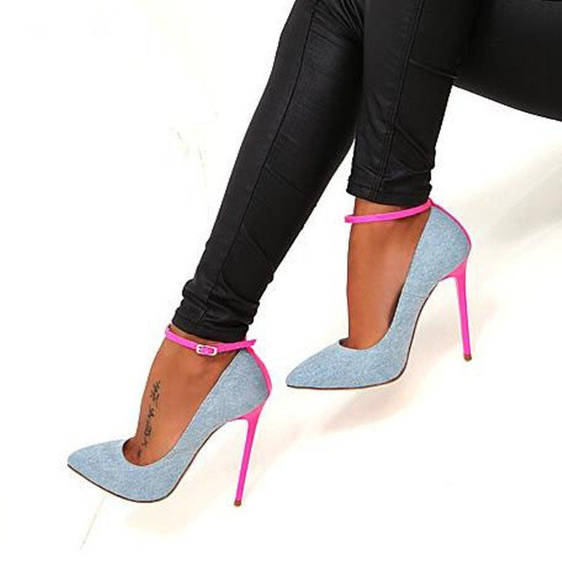 12cm Stiletto Heel Pointed Toe Women's Casual Pumps