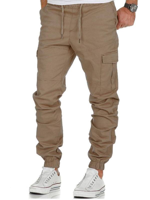 Men's Sport Style Pure Color Casual Pants