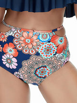 European Falbala Halter Two Piece Bikini