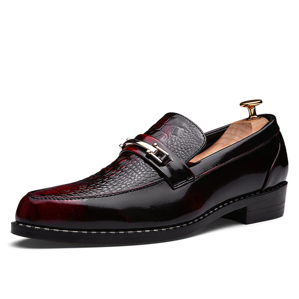 Professional Slip-On Low-Cut Round Toe PU Men's Oxford